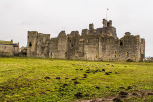 ruinas do Castelo de Middleham